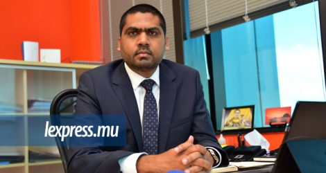 Samade Jhummun, Chief Executive, Global Finance Mauritius.