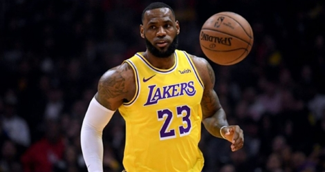 LeBron James des Los Angeles Lakers lors d'un match de NBA face aux Clippers, à Los Angeles, le 31 janvier 2019