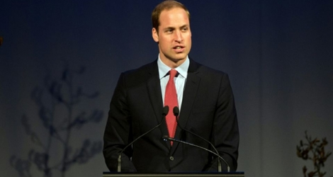 Le prince William.