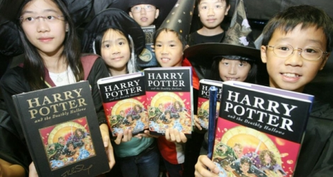 Les livres d'Harry Potter, un succès international.