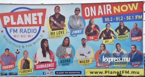 Le «soft launch» de Planet FM a eu lieu le 2 mai.
