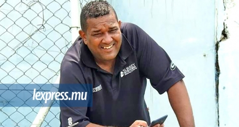 Jean Marie Bhugeerathee, Head Coach de la Mentally Handicapped Persons Sports Federation.