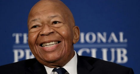 Elijah Cummings le 7 août 2019 à Washington.