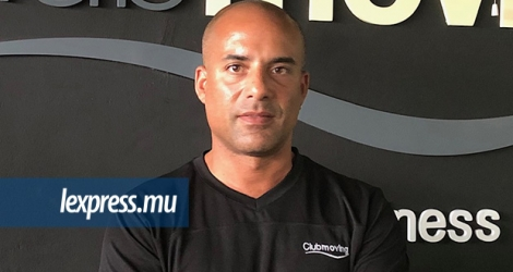 Damien Barclais, administrateur du Moving Fitness Park.