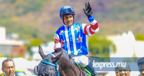 Le jockey Kerlsey Ramsamy n'a pu participer au «Week-end international» des courses samedi