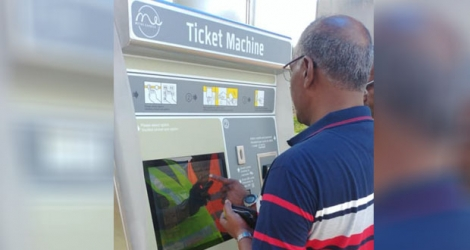 16 Ticketing Machines ont été aménagées à travers les sept stations du Metro Express. © Page Facebook de Mauritius Metro Express