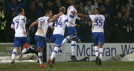 Tranmere Rovers, actuellement relégable en League One (D3) a battu Watford, relégable en Premier League.