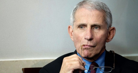 Le Dr Anthony Fauci, le 27 mars 2020 à Washington.