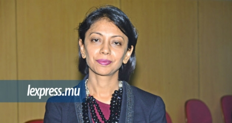 Naila Hanoomanjee travaille sur un «back to work scheme»
