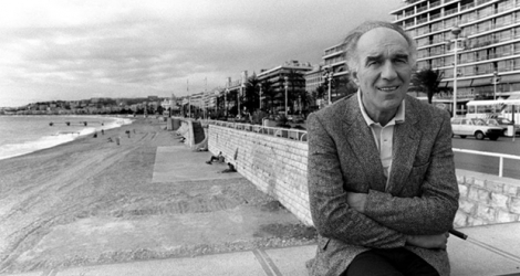 Michel Piccoli, le 22 octobre 1983 à Nice.