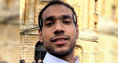Shiraaz Kureembokus a été suspendu de l'université d'Oxford.