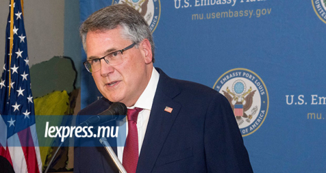 David Reimer, Ambassador of the United States to Mauritius.