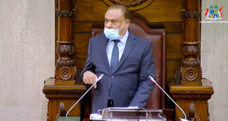 The Speaker of the National Assembly, on Tuesday, changed the focus of the PNQ of Arvin Boolell, which is more than the habitual editing done by the clerks.