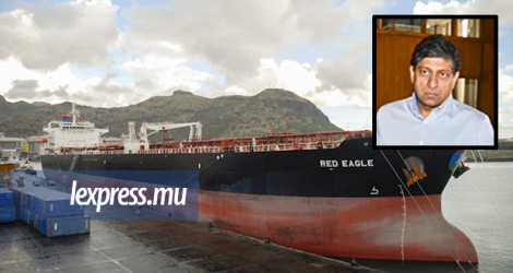 The STC argued that the Betamax deal was just a way for the state to pay for Veekram Bhunjun's (above) company's purchase of the oil tanker Red Eagle.
