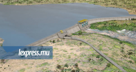 What the dam is supposed to look like.