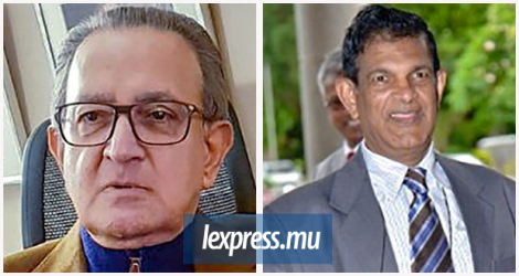 Dawood Rawat (L.) did not have the opportunity to submit his notes on the Britam deal to the commission chaired by former judge Domah.