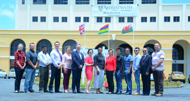 Aberystwyth souhaite renforcer son positionnement en tant qu'institution internationale.
