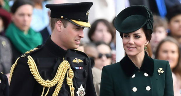 Le prince William et son épouse Kate.