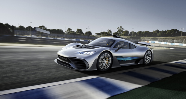 Mercedes-AMG Project One © Daimler AG All Rights Reserved
