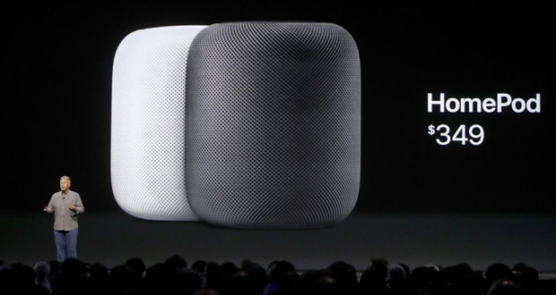 Apple repousse à 2018 le lancement de son HomePod