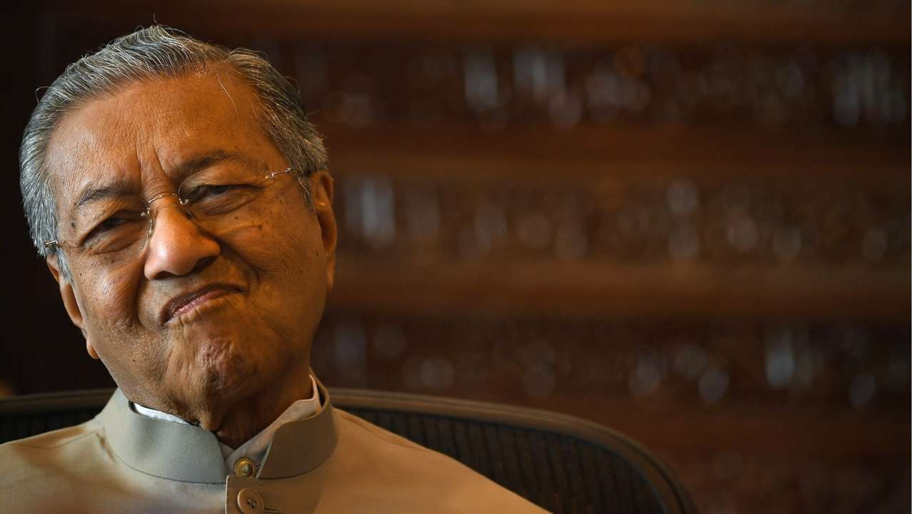 Mahathir Mohamad, former prime minister of Malaysia