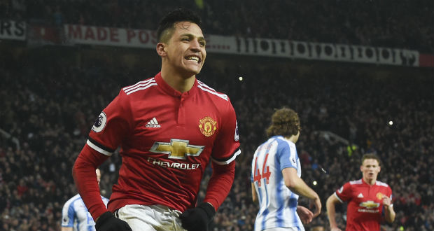United s'impose, Sanchez inscrit son premier but