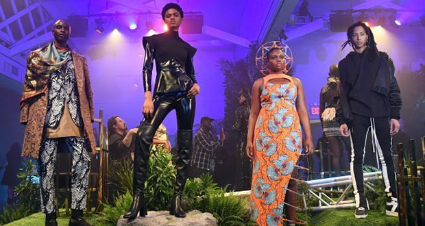 «Black Panther» passe par la Fashion Week.