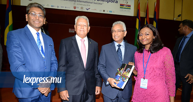 Le Premier ministre participait, ce mardi 20 février, au lancement de l'«International Conference of the Mauritian Academic Diaspora 2018».