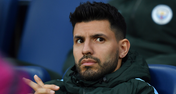Sergio Agüero out 4 à 5 semaines — Man City