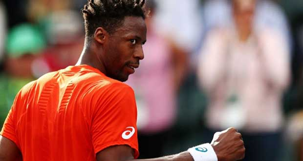 Gael Monfils le 11 mars 2019 à Indian Well.