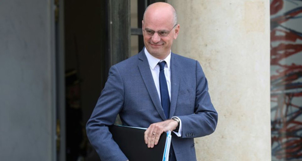 Le ministre de l'Education nationale Jean-Michel Blanquer à Paris, le 7 mai 2019.