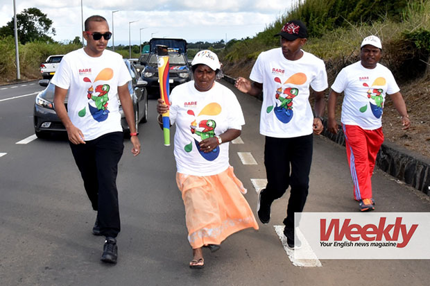 The flame will tour Mauritius until the start of the Games. © Krishna Pather