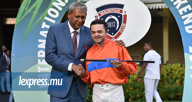 Manoel Nunes a remporté haut le main l'Attitude Hotels International Jockeys' Weekend.