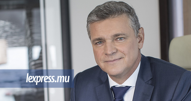 Arnaud Lagesse, Chief Executive Officer du Groupe IBL.