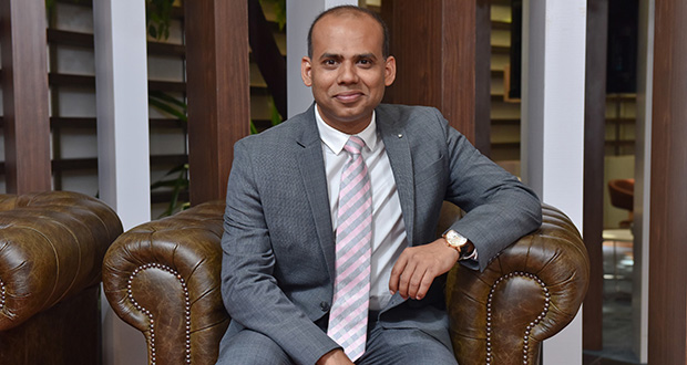 Sandeep Mohapatra, Director – Head of Digital Transformation chez Absa Maurice.