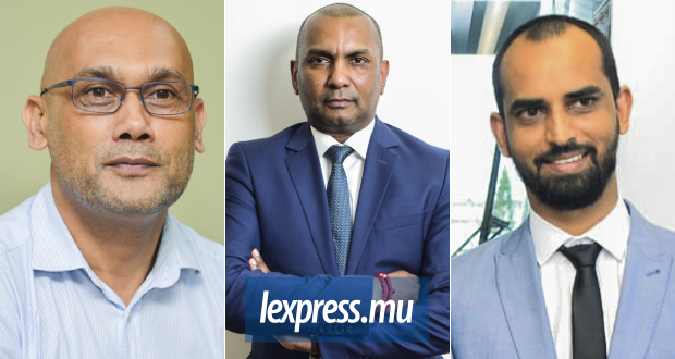 The Supreme court will have to décide on Kailesh Jagutpal (left), Renganaden Padayachy (centre) and Ismael Rawoo's (right) motion.