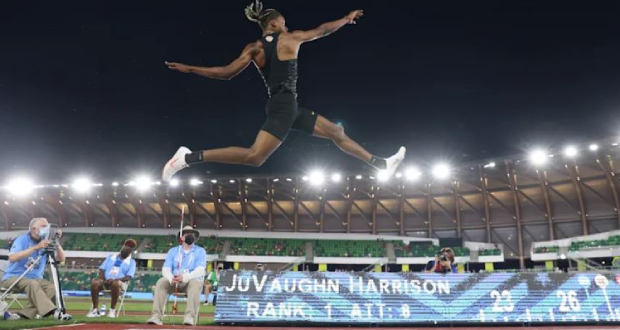Long jump: Harrison qualified and aims for double with height