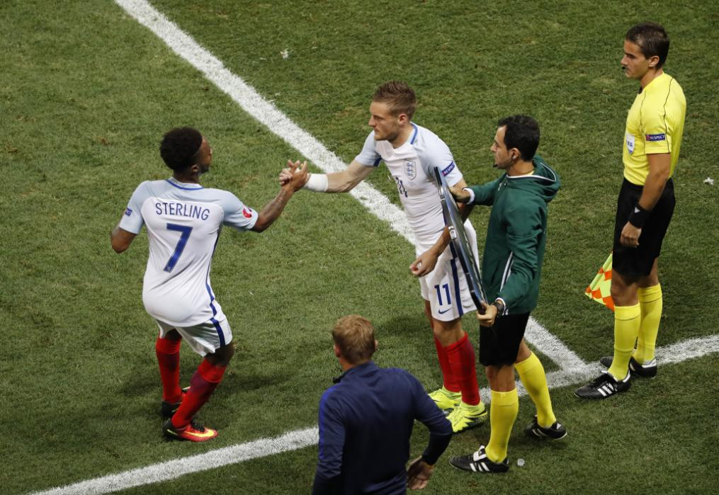 Vardy remplace Sterling
