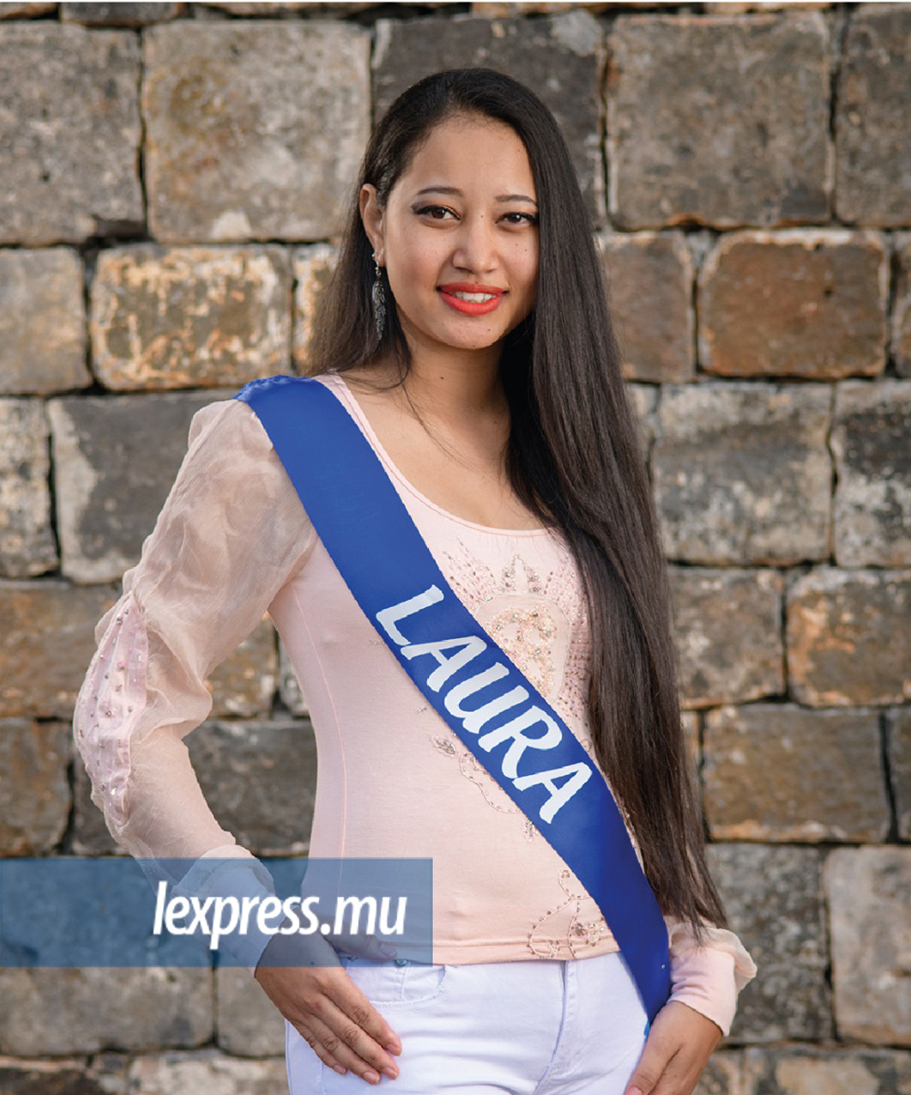 NINA Laura Age: 23 Height: 1 m 64 Qualification: SC Occupation: Student at Amit Hair Dressing School at Belle Rose Ambition: To be successful in life and help poor children Talent: Henna Design, Dancing, Writing poems, Painting Sports Practiced: Swimming, Circuit training, Volley